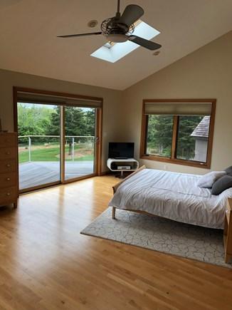 Katama - Edgartown Martha's Vineyard vacation rental - Huge master bedroom- complete privacy from downstairs bedroom.