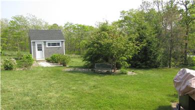 Edgartown Martha's Vineyard vacation rental - Back Yard...Plenty of room to enjoy!