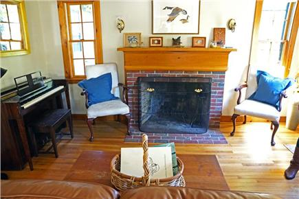 vineyard haven Martha's Vineyard vacation rental - Fireplace