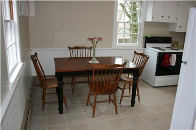 vineyard haven Martha's Vineyard vacation rental - Dining area in kitchen