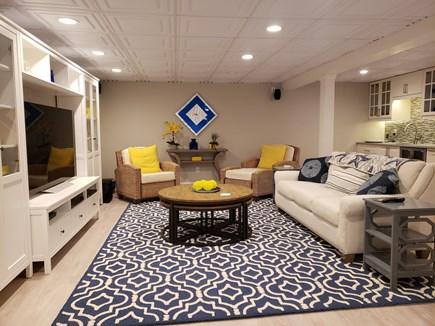 West Tisbury Martha's Vineyard vacation rental - Large Media Room with surround sound