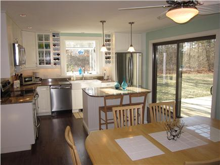 West Tisbury Martha's Vineyard vacation rental - Sunny open kitchen with granite and stainless appliances