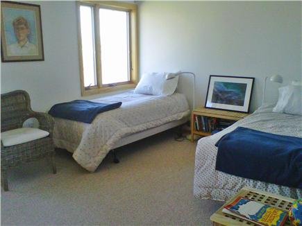 Chilmark Martha's Vineyard vacation rental - Twin Bedroom coverts easily to King Bed