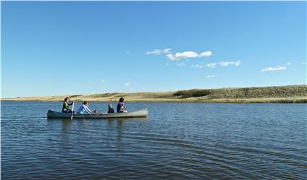 Chilmark Martha's Vineyard vacation rental - House canoe on Chilmark Pond