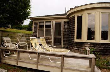 Edgartown Martha's Vineyard vacation rental - Deck