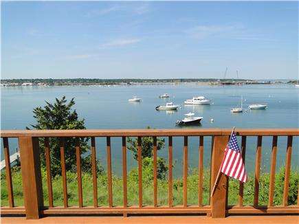 Oak Bluffs, Lagoon Pond Martha's Vineyard vacation rental - Breathtaking views from the living room and deck of Oak Bluffs