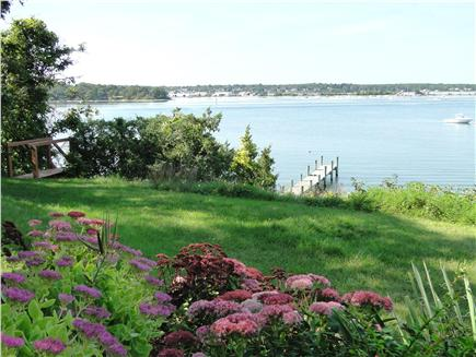 Oak Bluffs, Lagoon Pond Martha's Vineyard vacation rental - View from yard of private dock