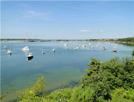 Oak Bluffs, Lagoon Pond Martha's Vineyard vacation rental - Watch the boats travel through the harbor