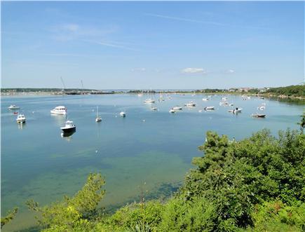 Oak Bluffs, Lagoon Pond Martha's Vineyard vacation rental - Watch the boats travel through the harbor