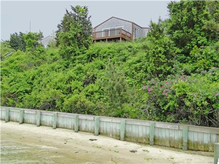 Oak Bluffs, Lagoon Pond Martha's Vineyard vacation rental - Private beach area just steps from the house