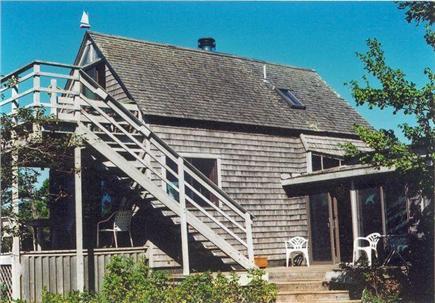 Chappaquiddick - Wasque Martha's Vineyard vacation rental - Relax in the shade or sunshine on four outdoor decks.