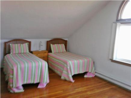 Katama - Edgartown Martha's Vineyard vacation rental - Bedroom #2, upstairs with twin beds