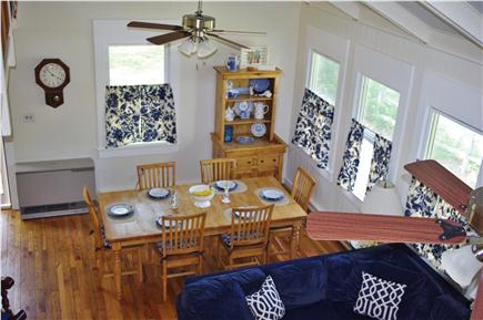 Edgartown Martha's Vineyard vacation rental - Great room tv with dvd, vcr and satellite TV
