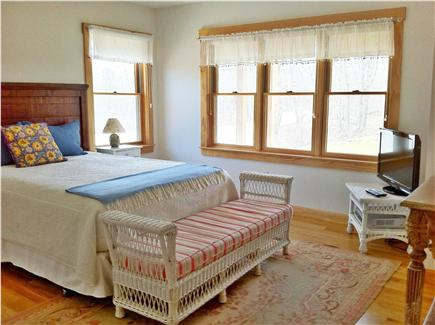 West Tisbury Martha's Vineyard vacation rental - One of two master bedrooms with private bath