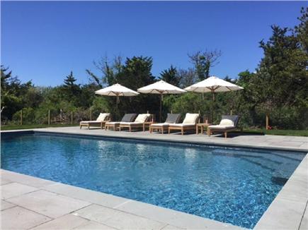 Katama - Edgartown, Edgartown Martha's Vineyard vacation rental - Lounging by the Pool
