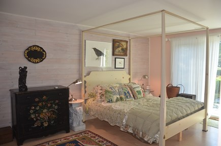 Chilmark - off Meetinghouse Ro Martha's Vineyard vacation rental - Master bedroom - queen. Opens onto patio and outdoor shower