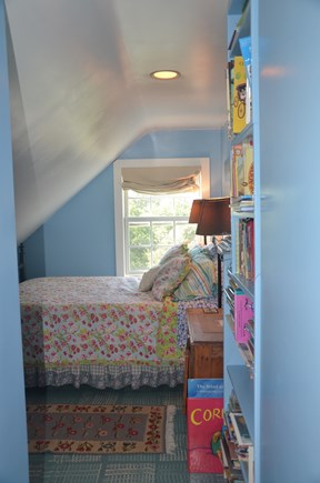 Chilmark - off Meetinghouse Rd Martha's Vineyard vacation rental - Upstairs blue bedroom #3 - queen