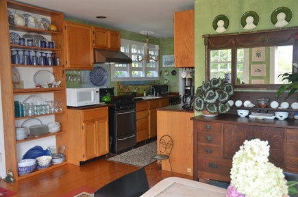 Chilmark - off Meetinghouse Ro Martha's Vineyard vacation rental - Galley kitchen with all amenities