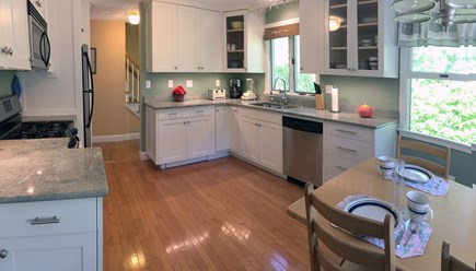 Vineyard Haven Martha's Vineyard vacation rental - Cheerful kitchen is newly remodeled and well appointed.