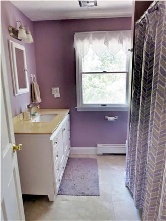 Vineyard Haven Martha's Vineyard vacation rental - Second-floor bath also has a new look.