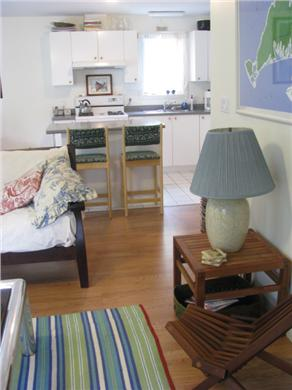 Oak Bluffs Martha's Vineyard vacation rental - View to kitchen from living room area