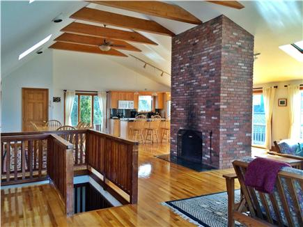 Katama - Edgartown Martha's Vineyard vacation rental - Spacious and Sunny Upstairs Living Room