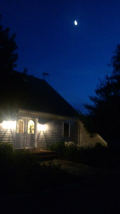 Katama - Edgartown Martha's Vineyard vacation rental - Moonlit evening and brilliant star filled sky