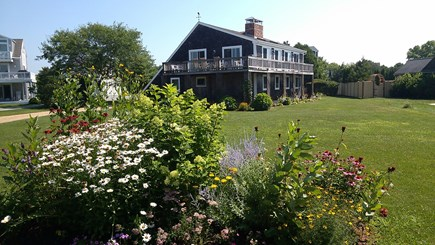 Katama - Edgartown Martha's Vineyard vacation rental - Spacious lawn for outdoor play