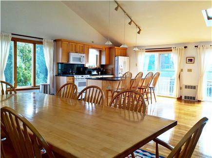 Katama - Edgartown Martha's Vineyard vacation rental - Enjoy family meals together in beauty and luxury