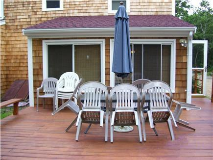 Edgartown Martha's Vineyard vacation rental - Deck