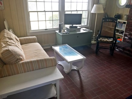 Chappaquiddick Martha's Vineyard vacation rental - Living room
