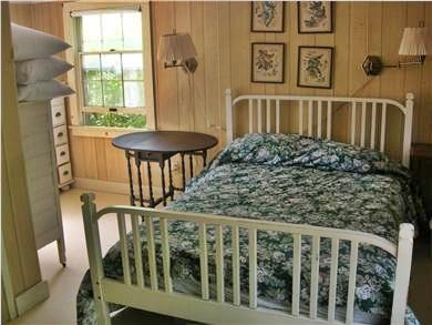 Chappaquiddick Martha's Vineyard vacation rental - 1st floor bedroom (has adjoining bathroom)