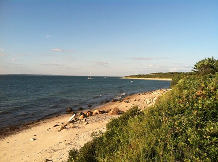 West Tisbury Martha's Vineyard vacation rental - View from the bluff