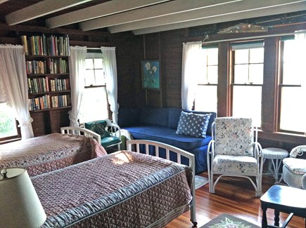 West Tisbury Martha's Vineyard vacation rental - Twin Bedroom with ocean views
