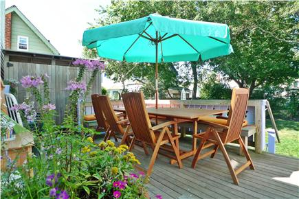 Oak Bluffs Martha's Vineyard vacation rental - Great back deck with gas grill for family barbacues
