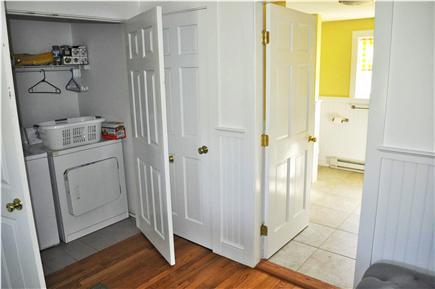 Katama - Edgartown, katama Martha's Vineyard vacation rental - Convienient laundry on lower level