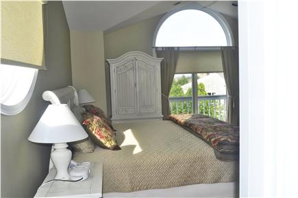 Katama - Edgartown, katama Martha's Vineyard vacation rental - Master suite with Juliet Balcony