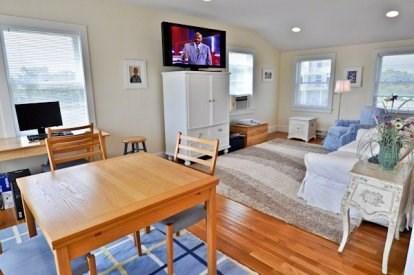 Katama - Edgartown, Katama/Edgartown Martha's Vineyard vacation rental - Large Family Room with Pullout Sofa and Flat Screen HD TV.