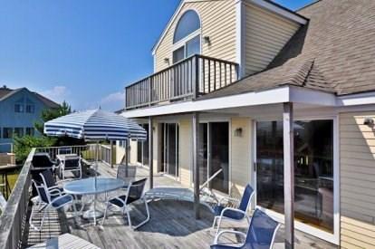 Katama - Edgartown, Katama/Edgartown Martha's Vineyard vacation rental - Spacious Back Deck with Grill and Wonderful Views.