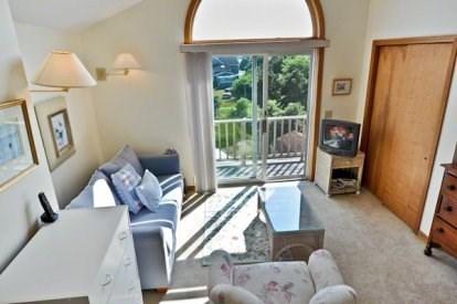 Katama - Edgartown, Katama/Edgartown Martha's Vineyard vacation rental - Master Den with Queen Pullout Sofa and Balcony.