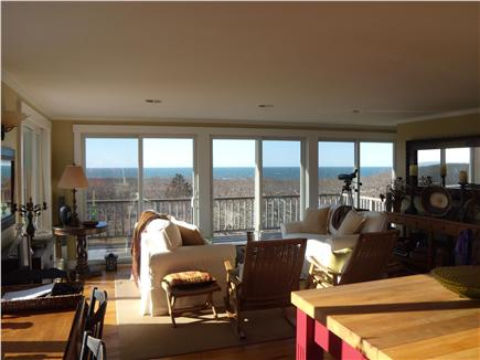 Aquinnah Martha's Vineyard vacation rental - Living Room
