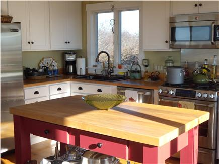 Aquinnah Martha's Vineyard vacation rental - Open gourmet kitchen