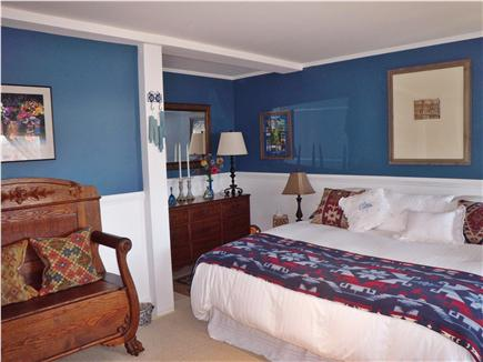 Aquinnah Martha's Vineyard vacation rental - Bedroom with King Bed