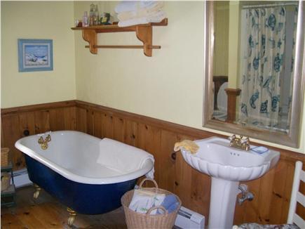 Oak Bluffs Martha's Vineyard vacation rental - Spacious bathroom with tub, shower, washer and dryer