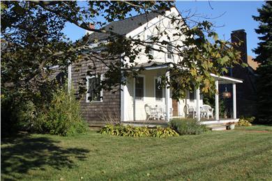 Oak Bluffs Martha's Vineyard vacation rental - Large front yard