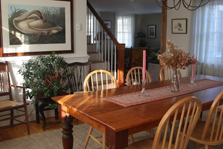 Oak Bluffs Martha's Vineyard vacation rental - Open kitchen dining room