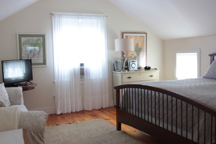 Oak Bluffs Martha's Vineyard vacation rental - Large private master bedroom king size bed sitting area.
