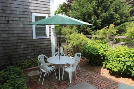 Oak Bluffs Martha's Vineyard vacation rental - Brick patio off from kitchen