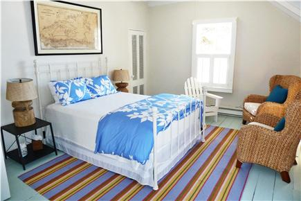 Oak Bluffs Martha's Vineyard vacation rental - 2nd Fl White/Blue Bedroom