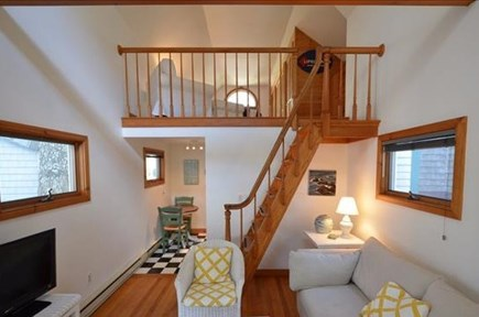 Oak Bluffs Martha's Vineyard vacation rental - Parlor with view to stairs to loft